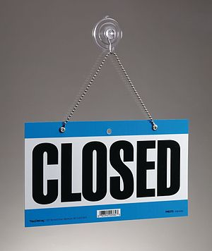 300px-Closed_Sign1