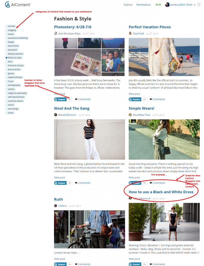 Fashion   Style — Content for Reposting — Page 1 — AtContent