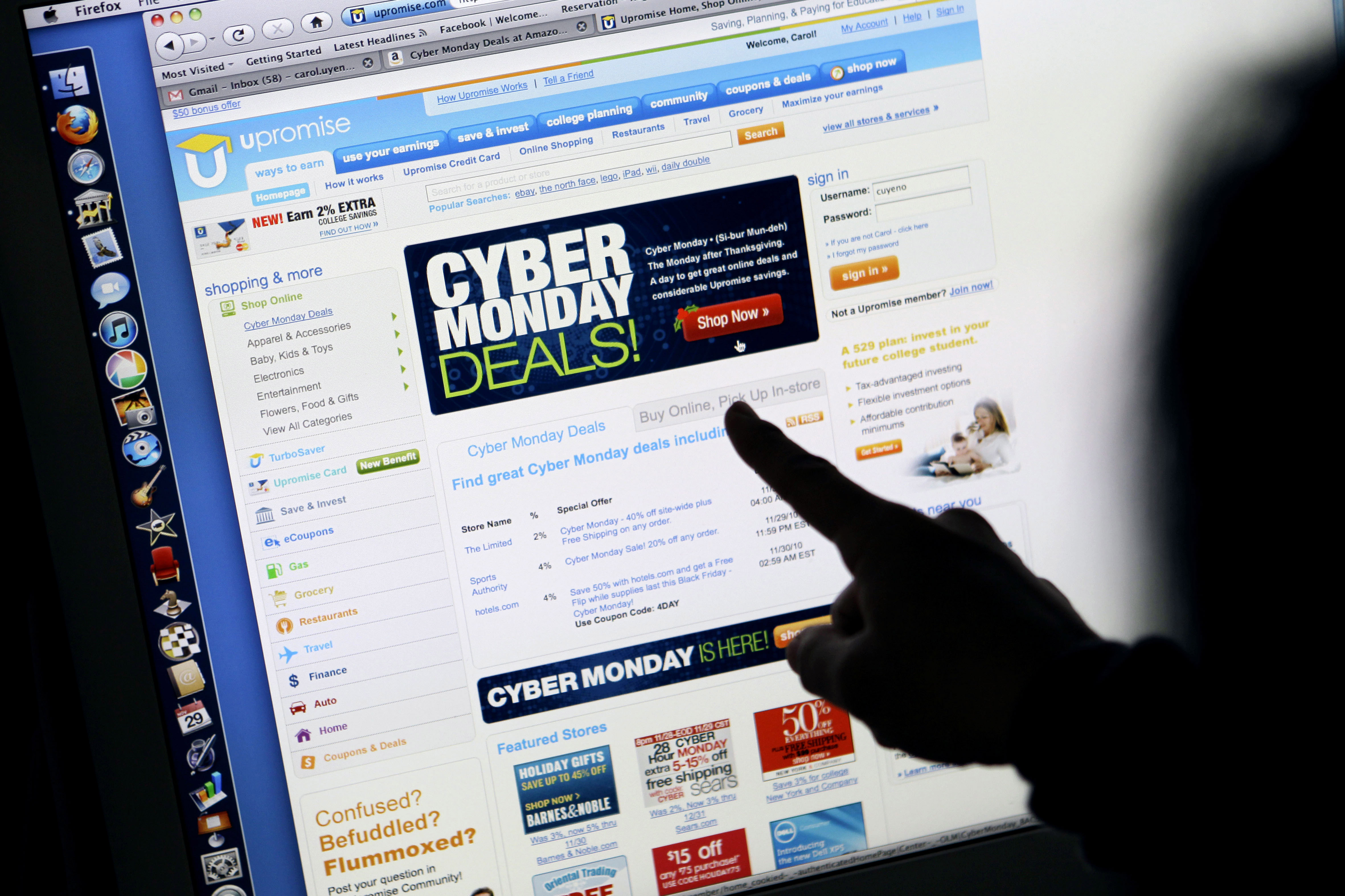CyberMonday: Those without in-home Broadband access miss out on savings/deals