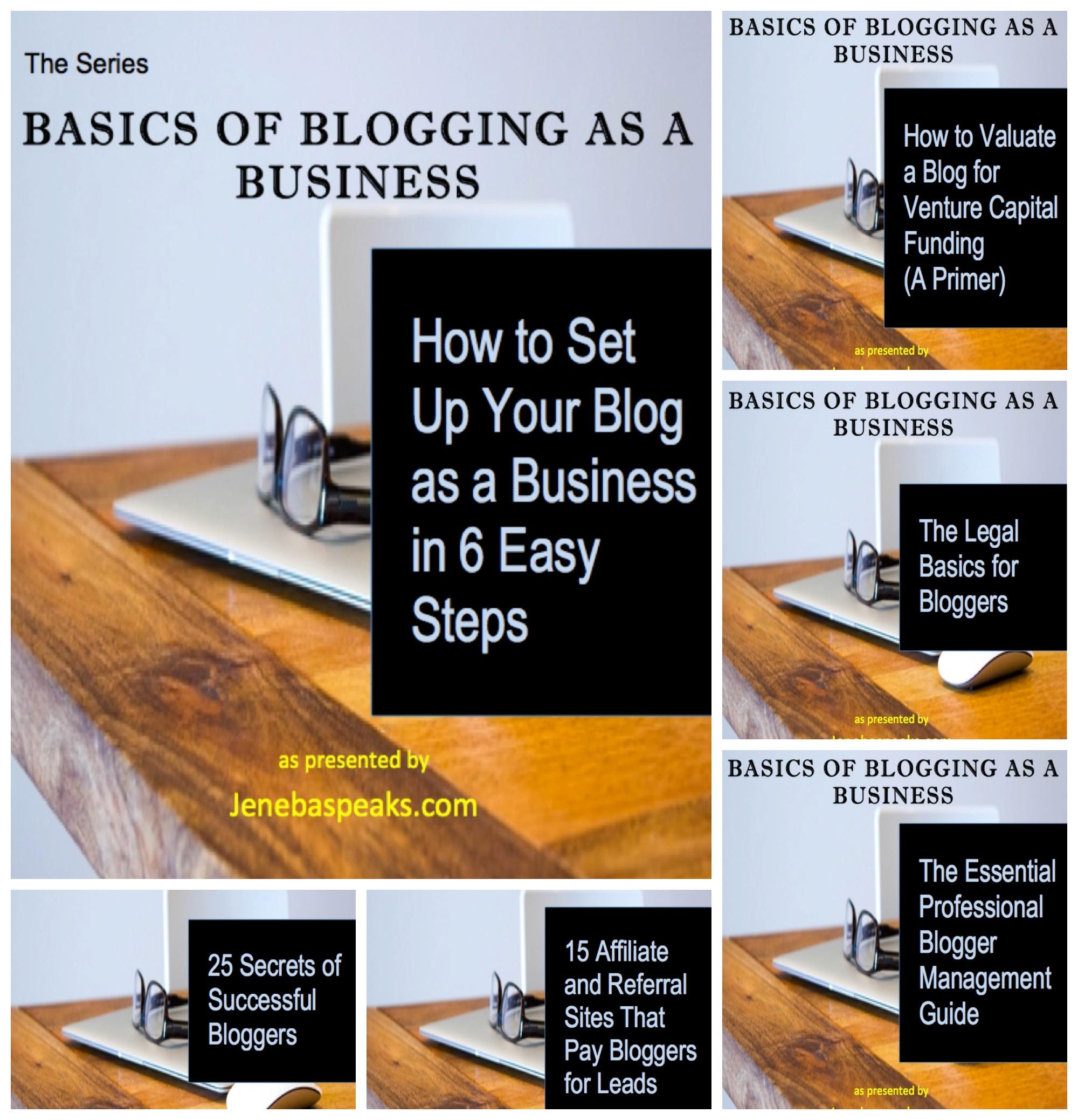 blogging series