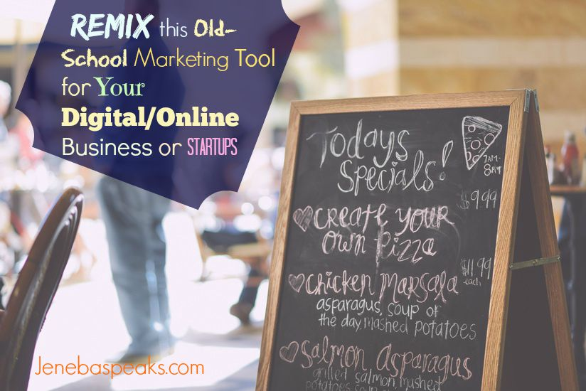 Use This Old-School Marketing Tool to Promo your Online Business