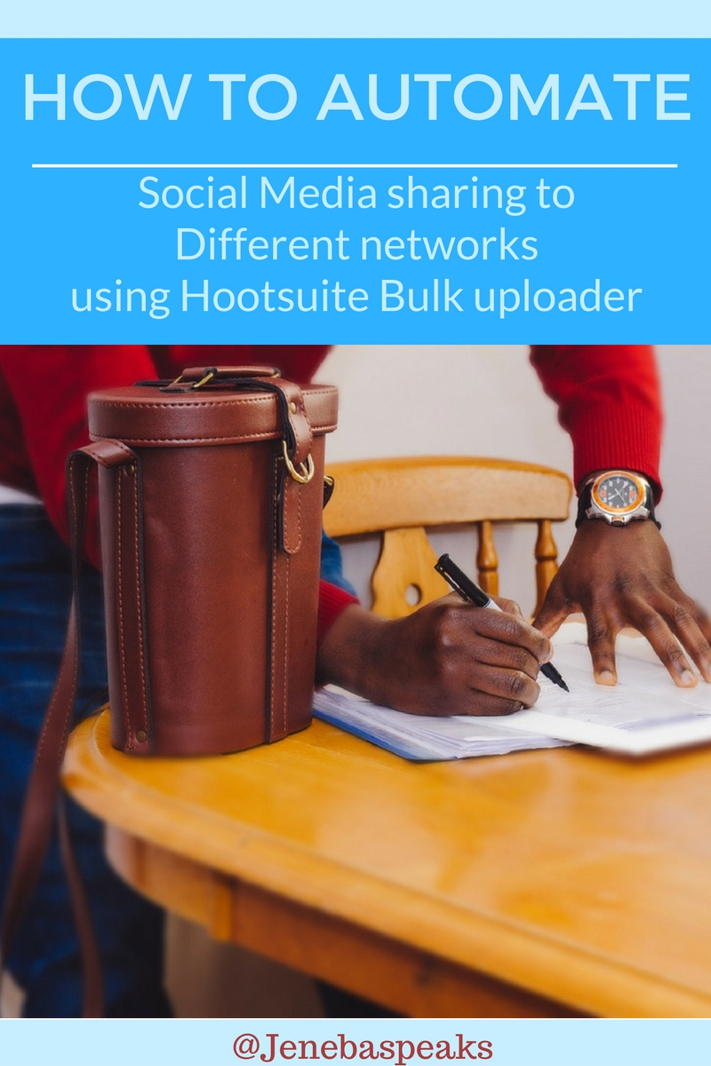 How to Automate Your Social media Sharing with Hootsuite Bulk Uploader (Tutorial)