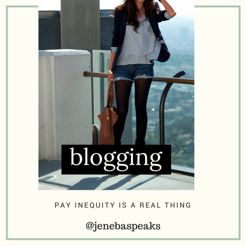 Why I think Black and Brown Bloggers Are Paid Less Than White Counterparts (10 Min PODCAST)