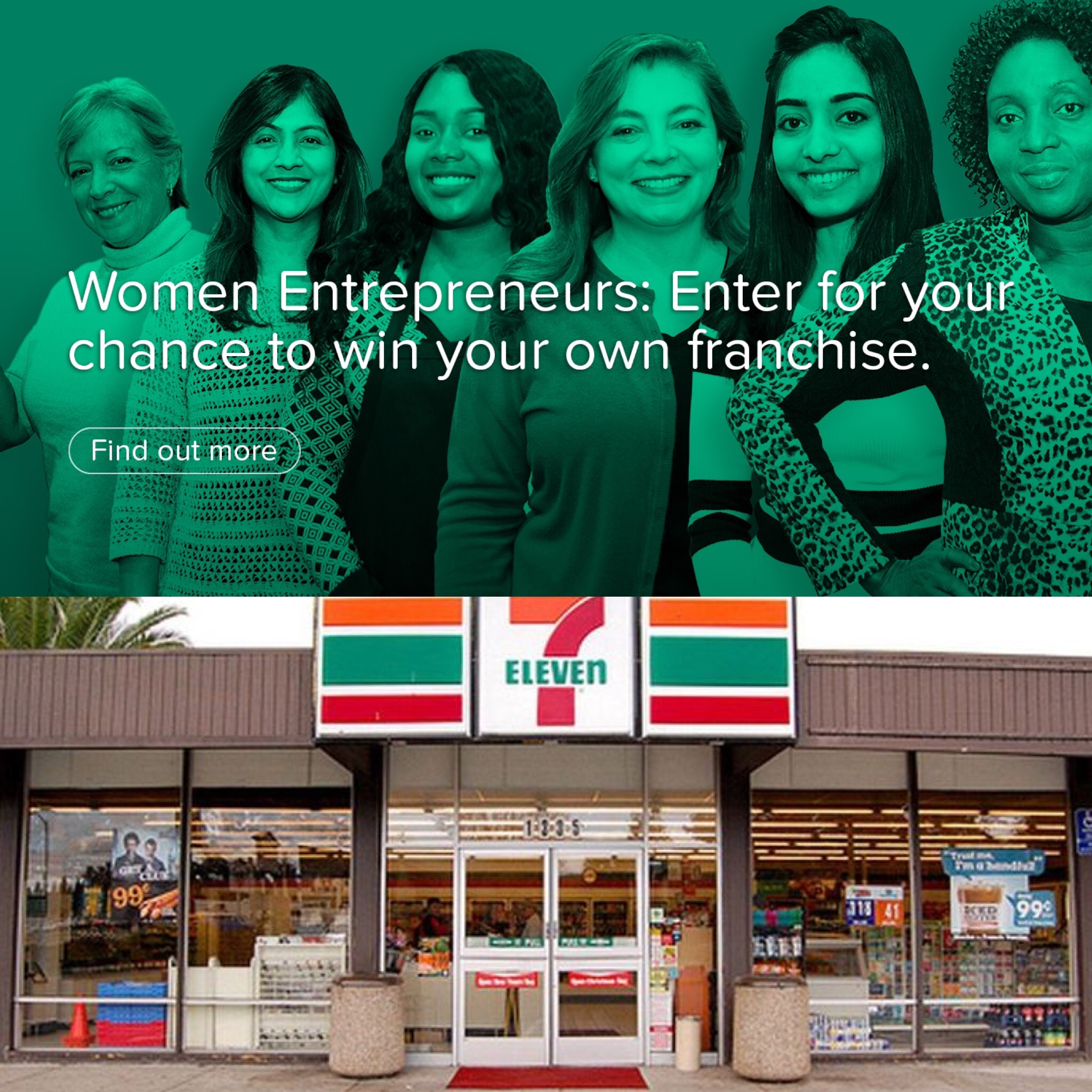 7-11's Giving A Woman a $190,000 Franchise-Free Store