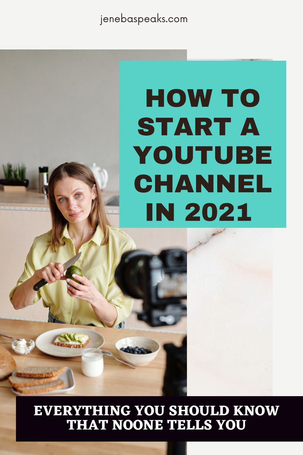 how to start a youtube channel in 2021 infographic