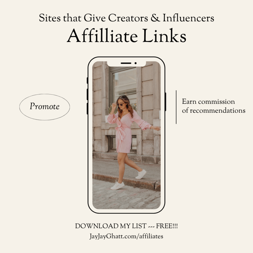affiliate link infographic